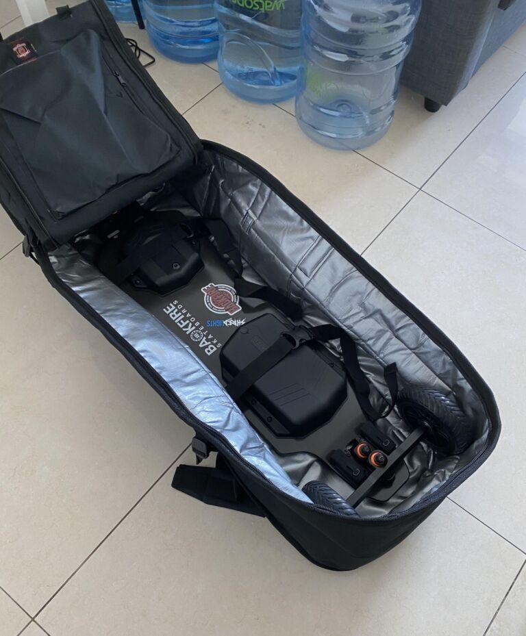 best bag for electric skateboards